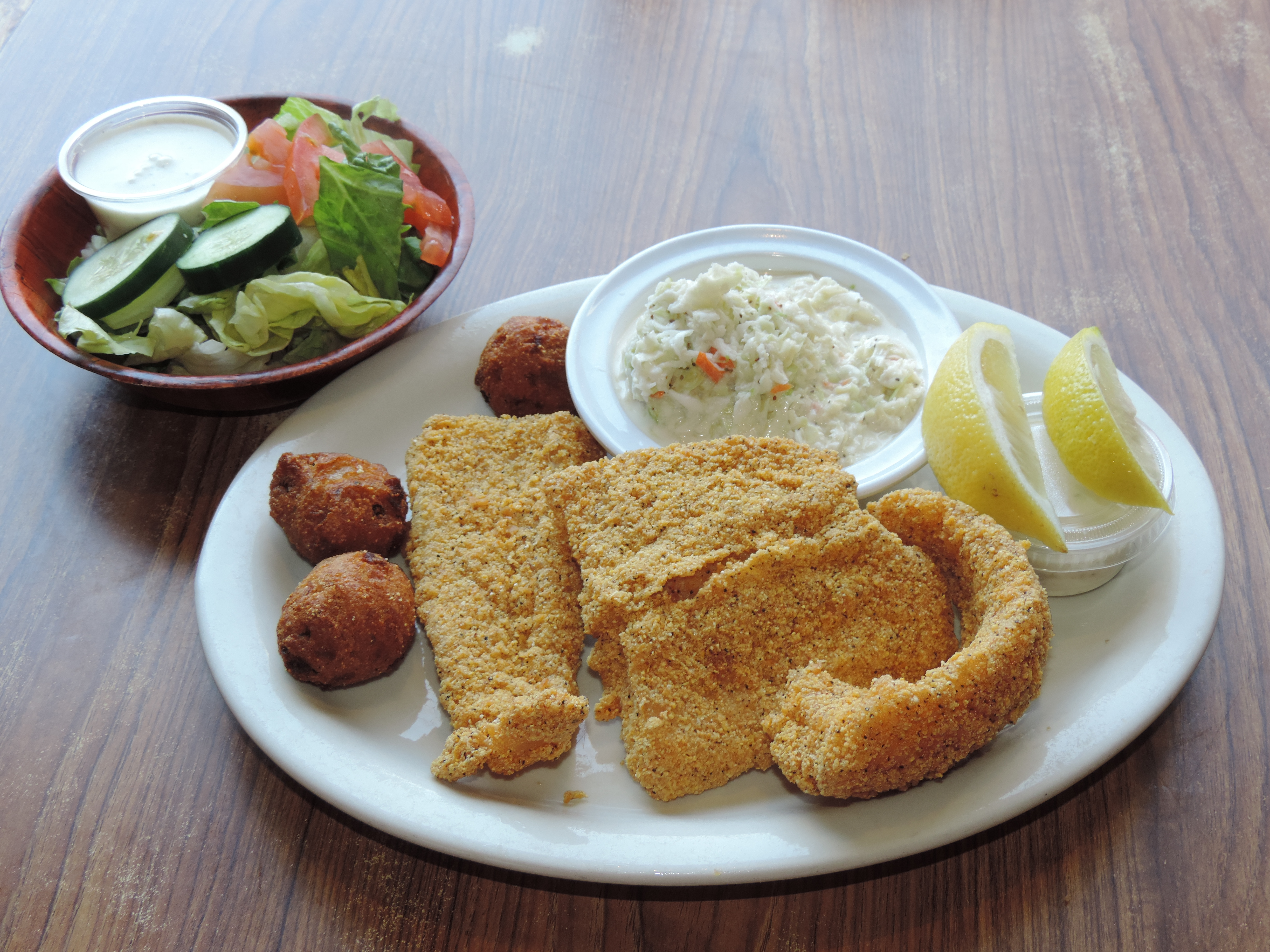Fried Catfish Lunch SpecialFriday